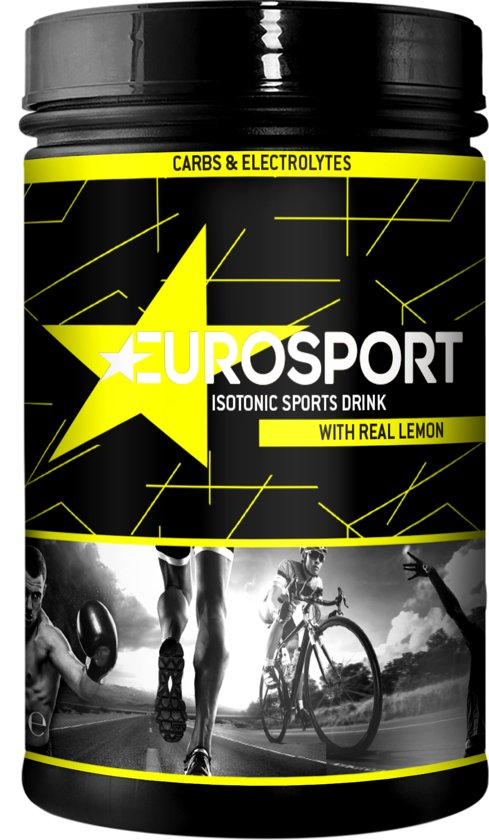 Eurosport - Isotonic sports drink - citrón - 600g